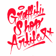 designer toy - graffiti shop artifex